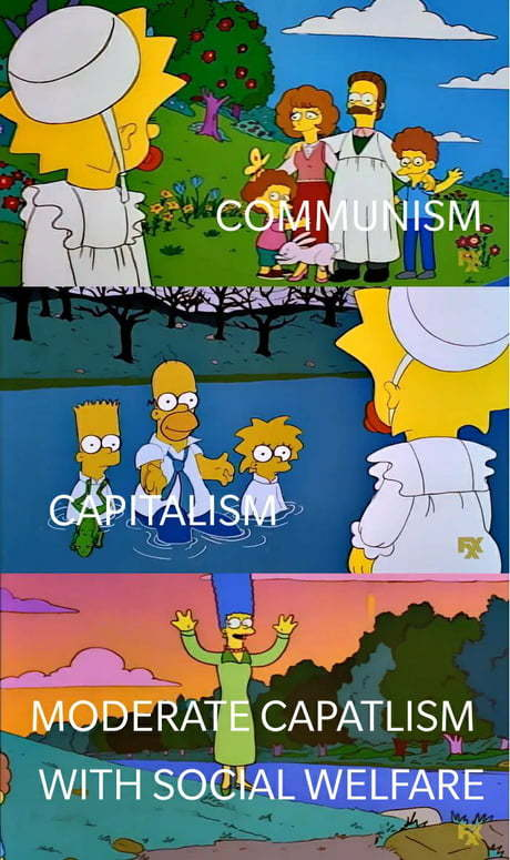 Communism is the best ideology - meme