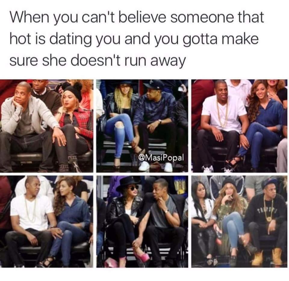 Don't let her go !!!! - meme