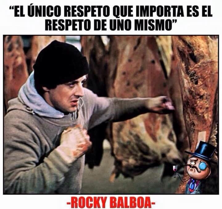 ese rocky :v - meme