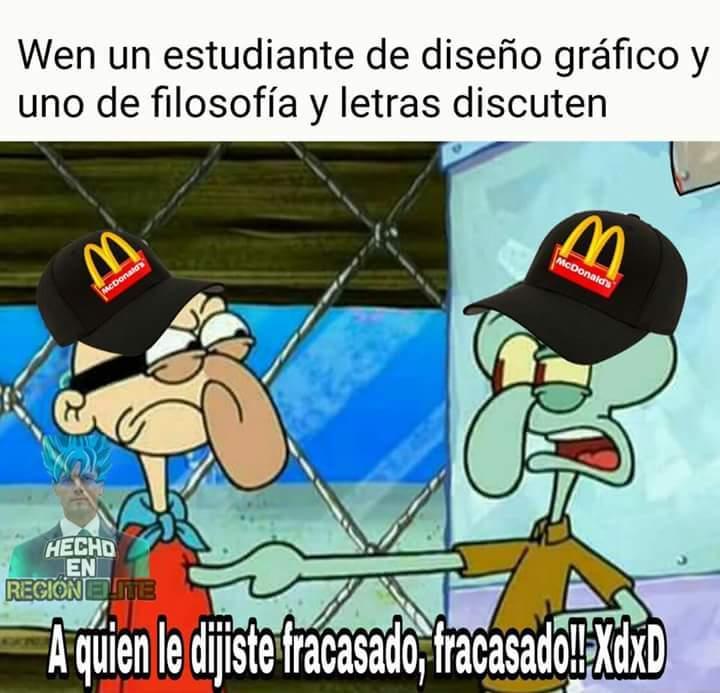 Fracasados XD - meme