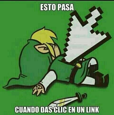 No mas links caidos - meme