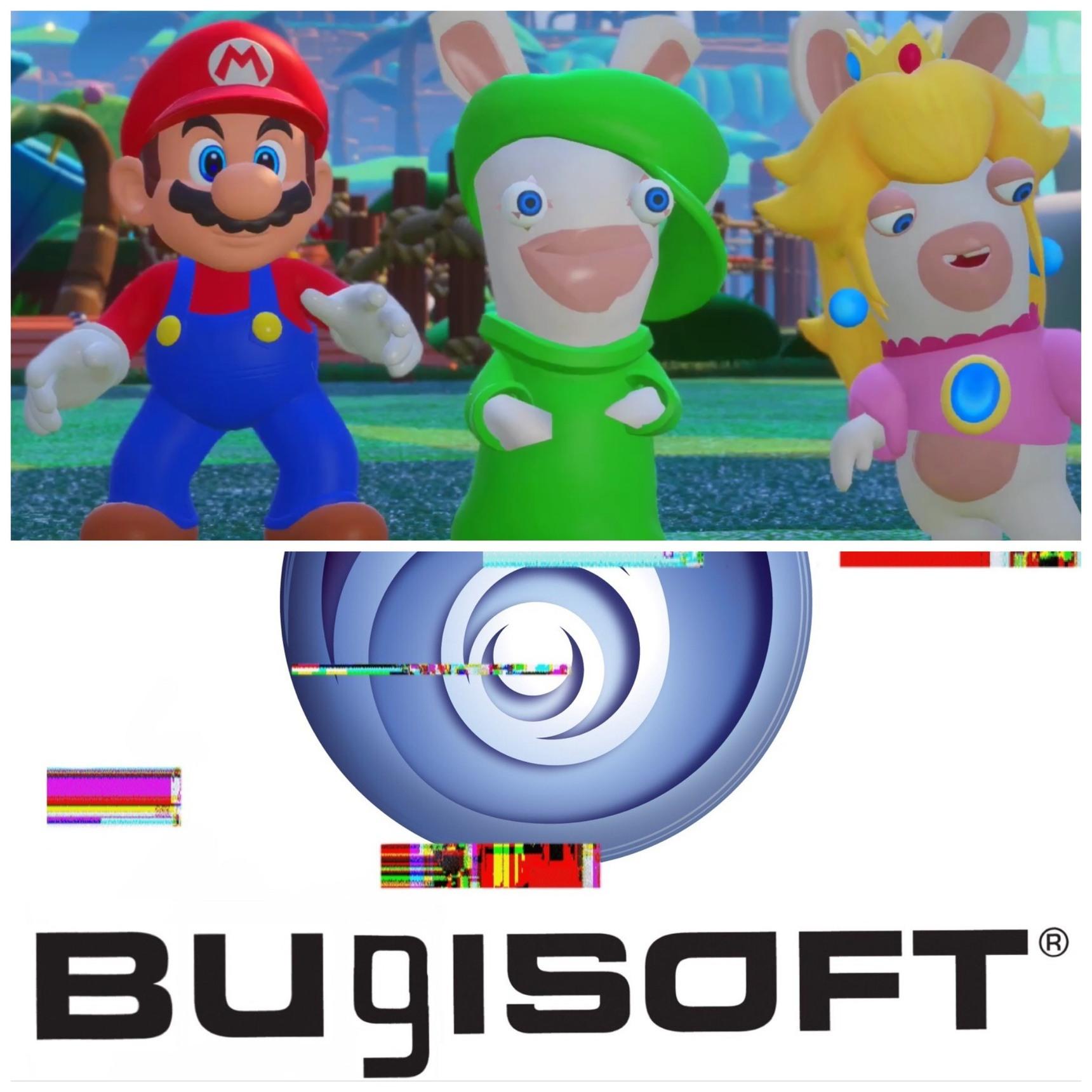 Miren a Rabbit-Luigi - meme