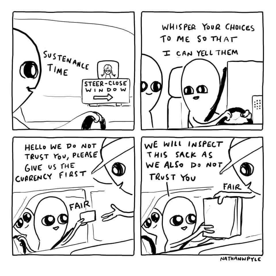 Strange planet - meme