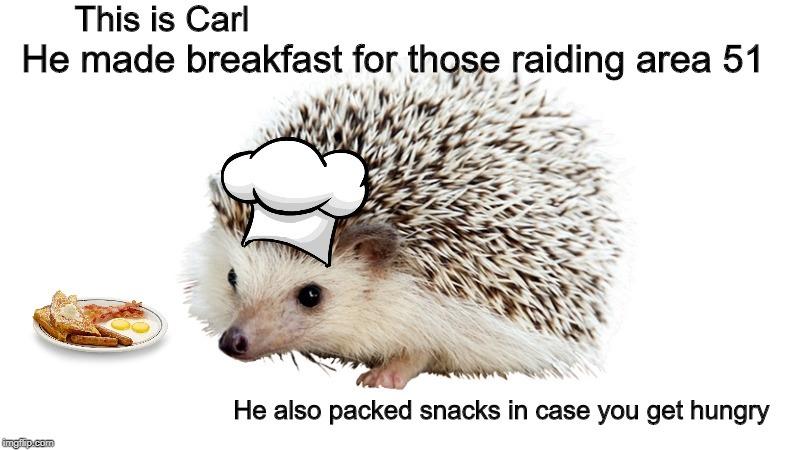 Never raid on an empty stomach - meme