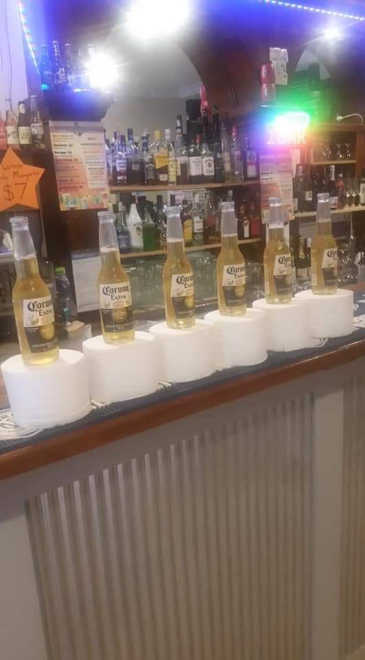 Promo at my local bar: buy 1 corona and receive 1 toilet roll - meme