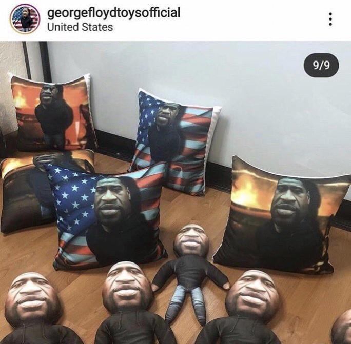 feorge gloyd has been turned into plushies - meme