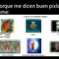 La imagen pixelada es de: el meme que viaja
