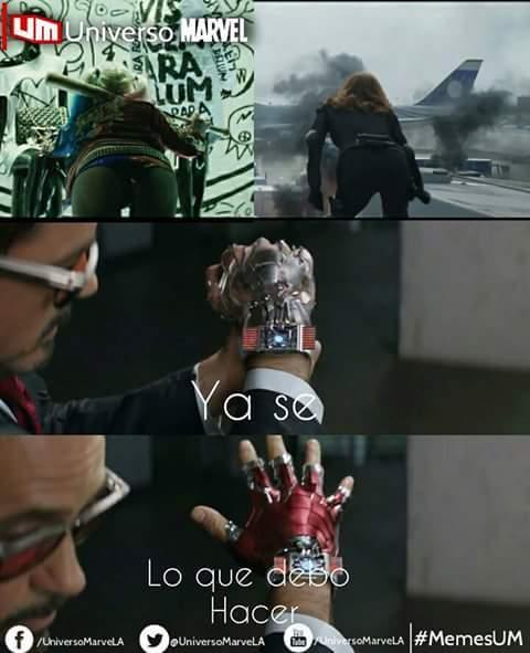 Tony Stark es un loquillo - meme