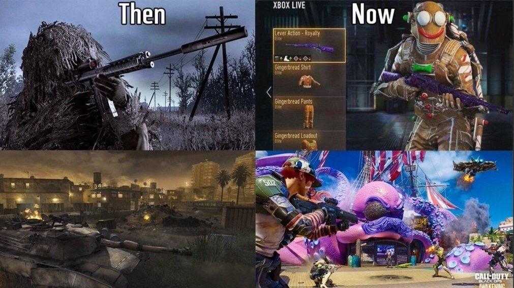 """""""Modern Warfare"""" - meme"""