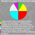 Falas do professor