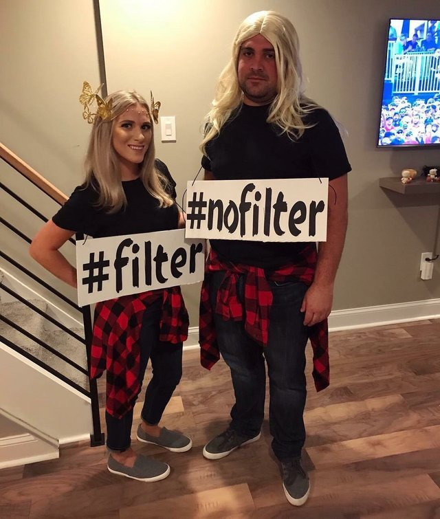 Couple costume idea - meme