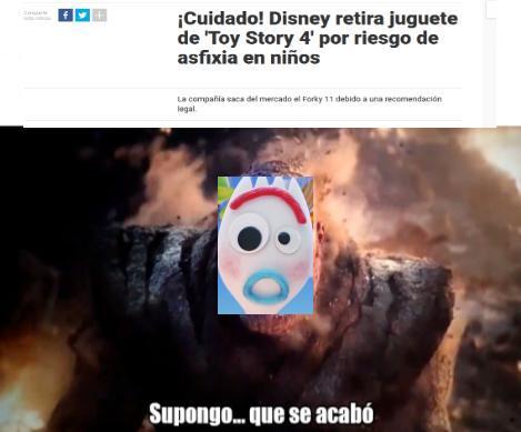 NO Mas FORKY - meme