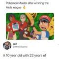 Ash the employers dream