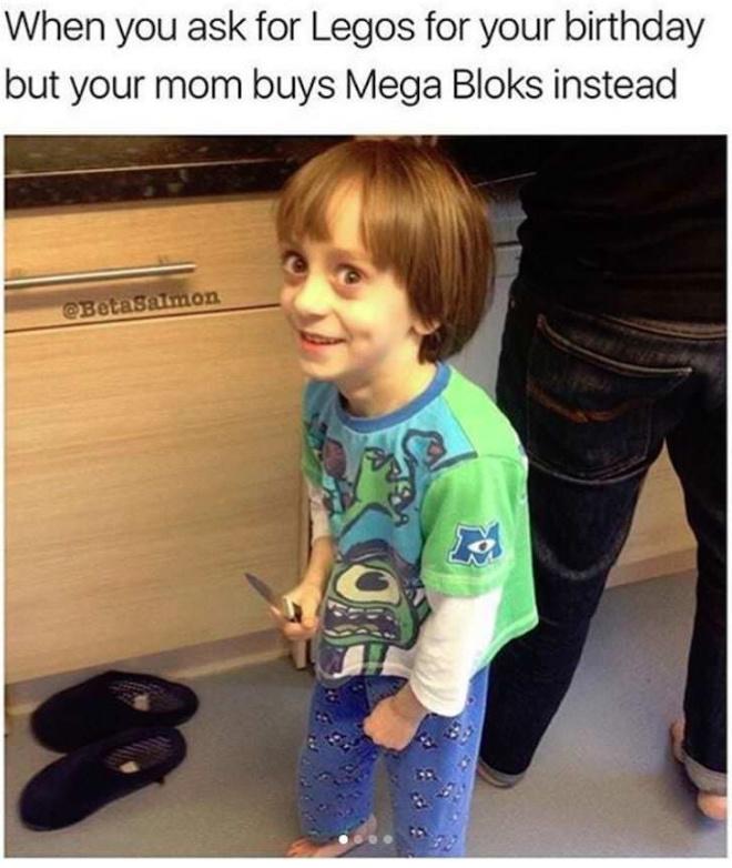 Legos at home: - meme