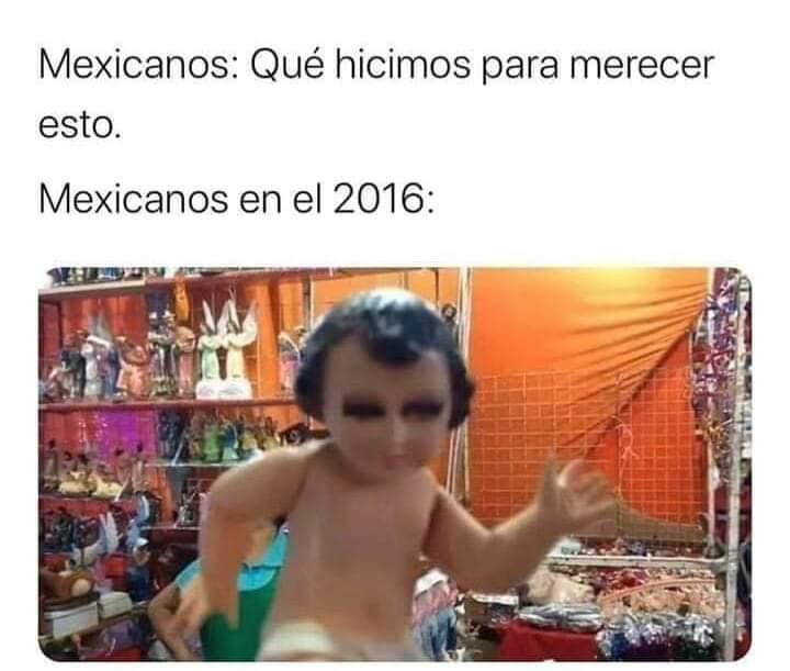 México lindo y herido - meme