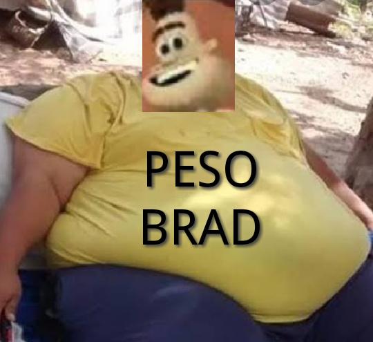 PESO BRAD - meme