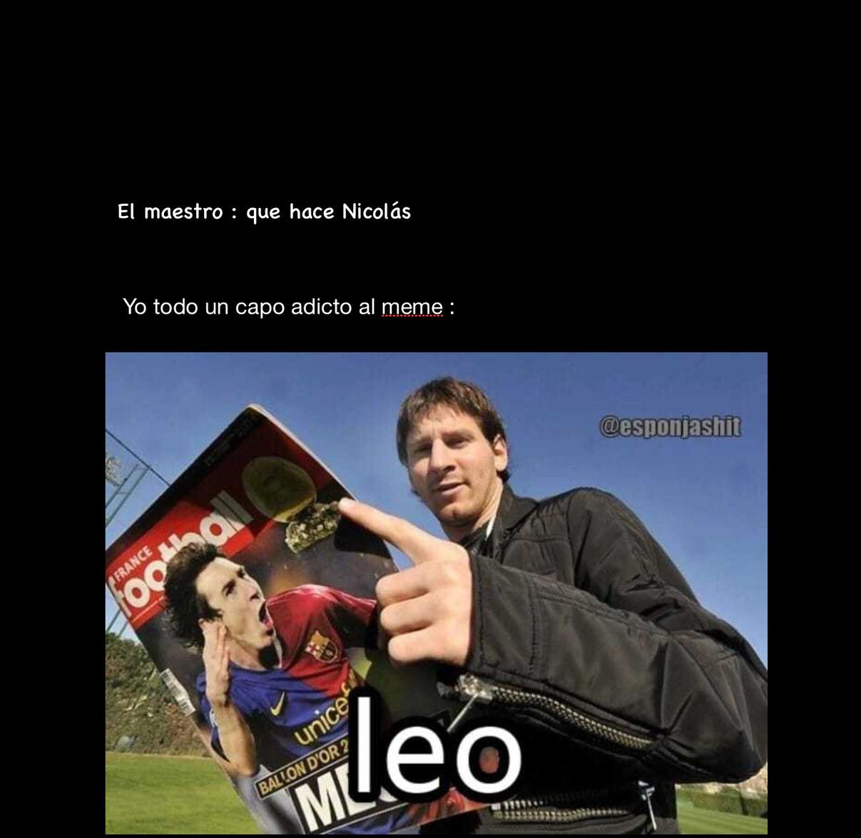 Leo - meme