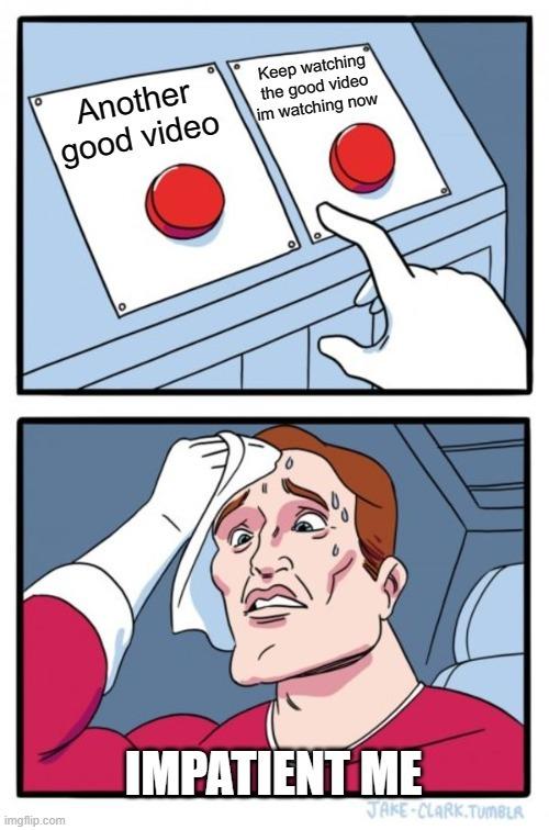 Why now youtube - meme