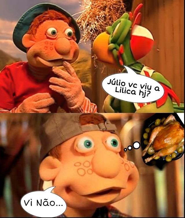 Porra Júlio - meme