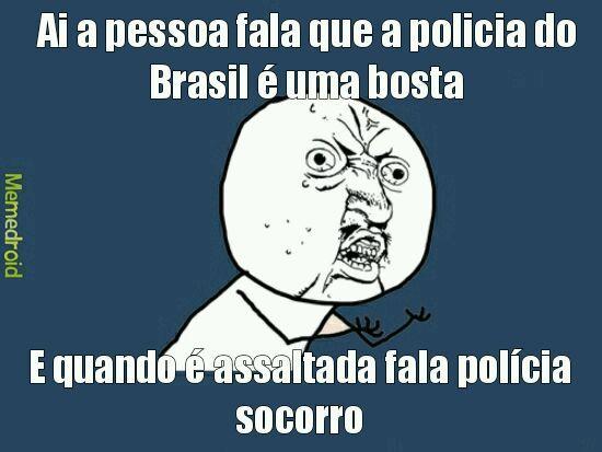 Brasil é bipolar - meme