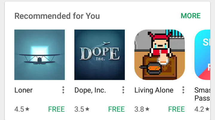 Well fuck you to google play store