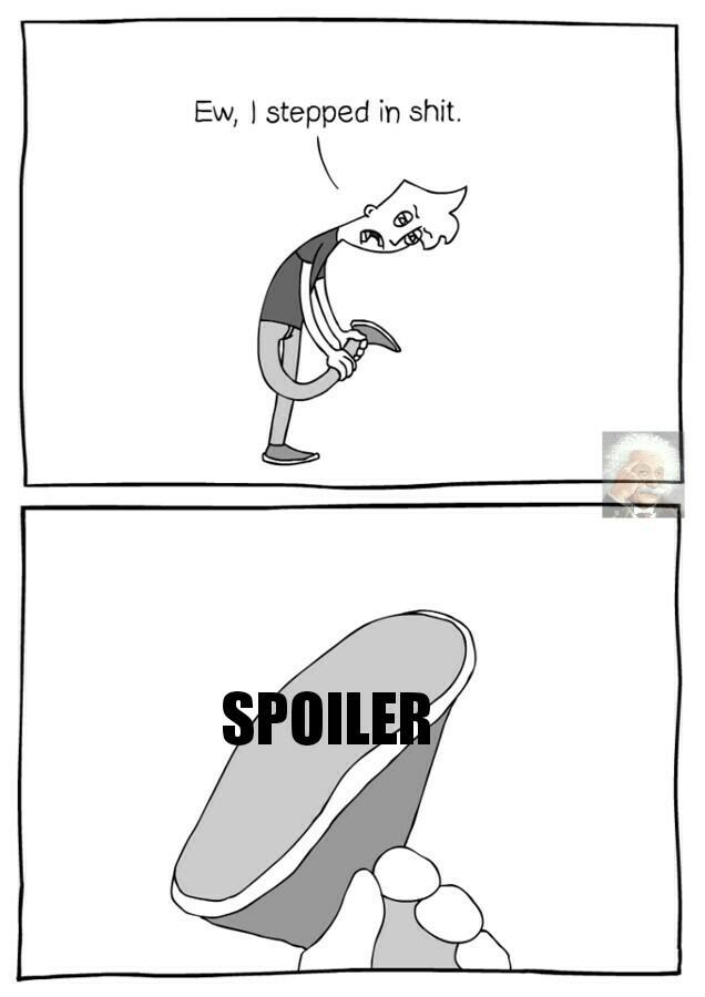 No es spoiler - meme