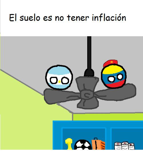 Saludos para los hermanos argentinos y venezolanos - meme
