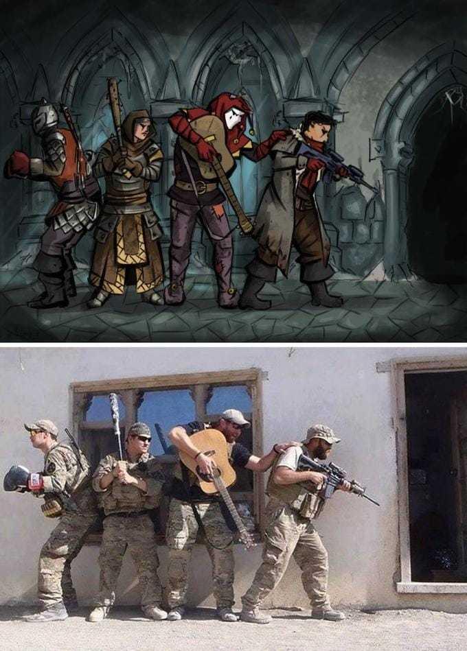 Darkest Dungeon :3 - meme