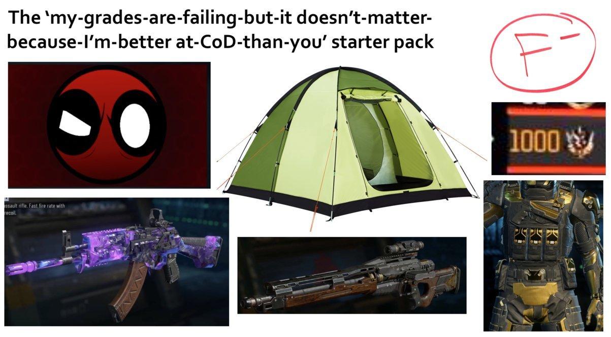 cod starter pack - meme