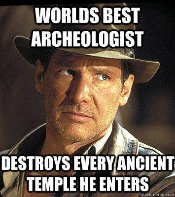 Indiana Jones everyone - meme