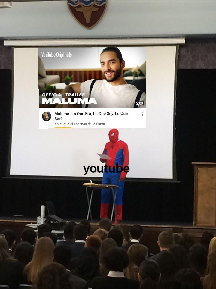 Youtube y sus recomendaciones(lo siento por el mal recorte - meme