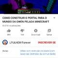 """""""Conteudo para crianças"""" diz o youtube."""