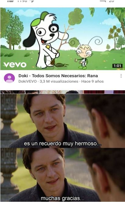 La época dorada de Discovery Kids - meme