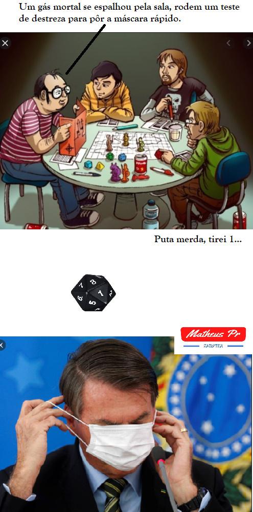 Jogadores de RPG entenderão. - meme