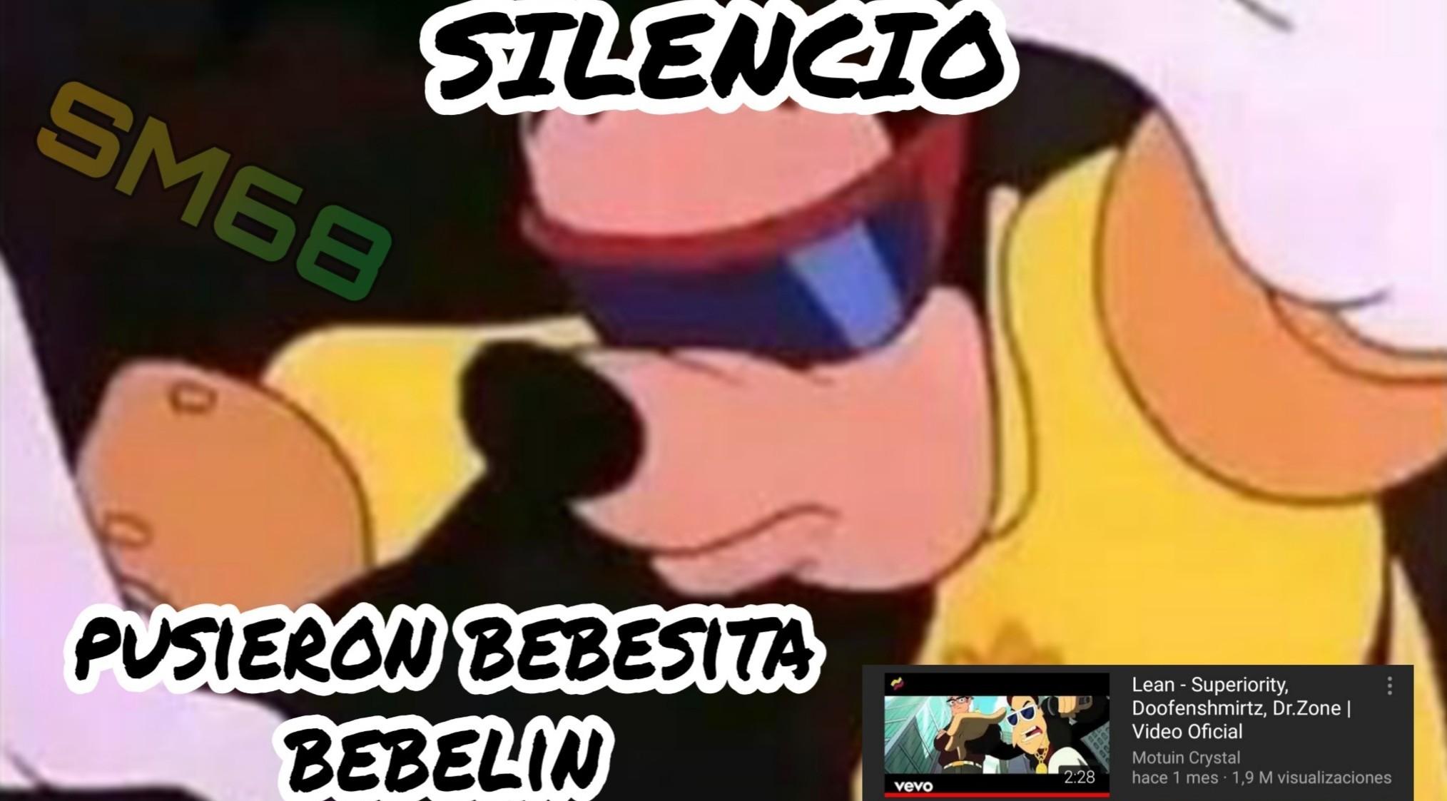 Silencio... Pusieron BEBECITA BEBELIN - meme