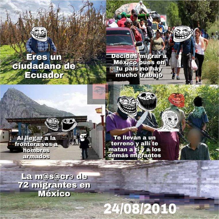 Recuerden gente, no se vayan a mexico - meme