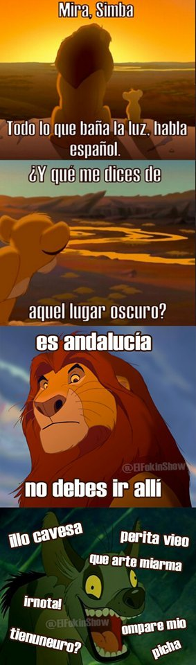 Españoles entenderán - meme