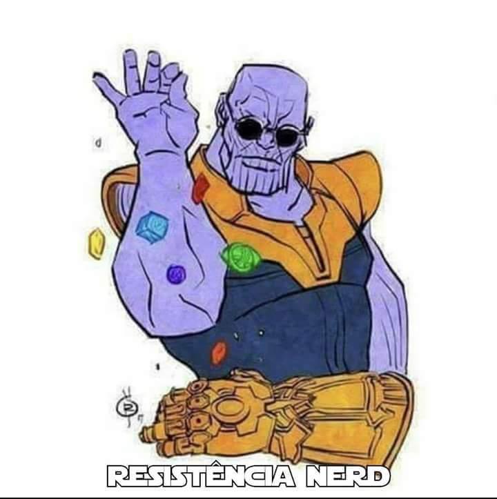 Tio Thanos é foda - meme