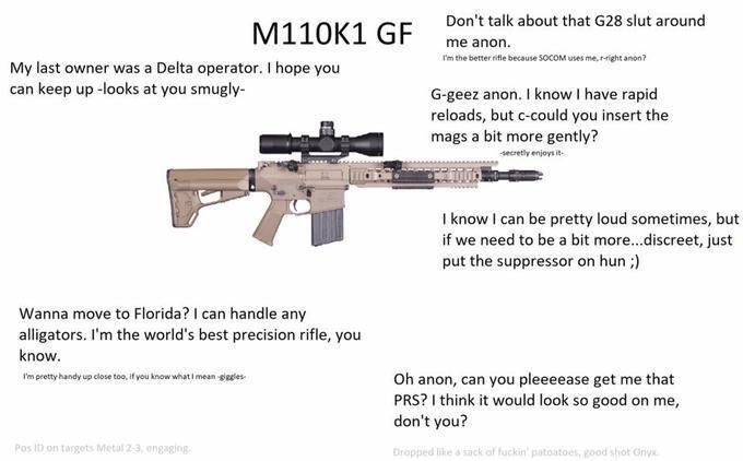 More gun waifus! - meme