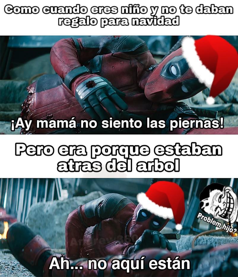 Fiesta de positivos por navidad :D - meme