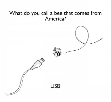 more bee puns - meme