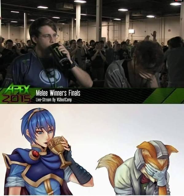I'm a marth main. Hbu? - meme
