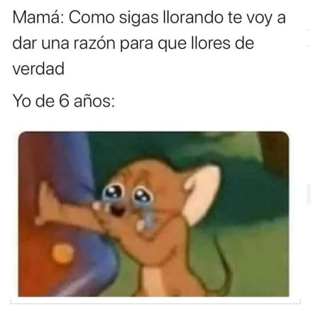 traumas infantíles - meme