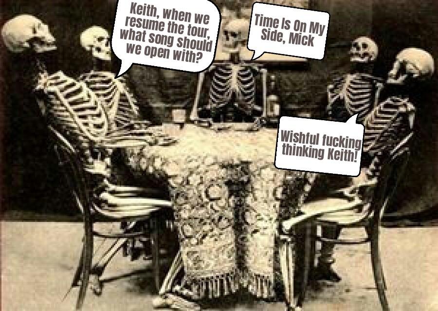 Strolling Bones - meme