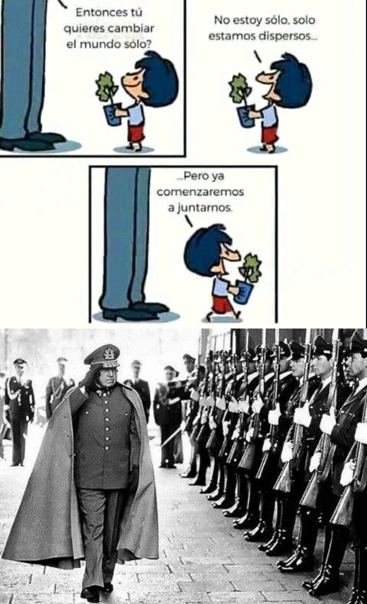 Mi general Augusto Pinochet - meme