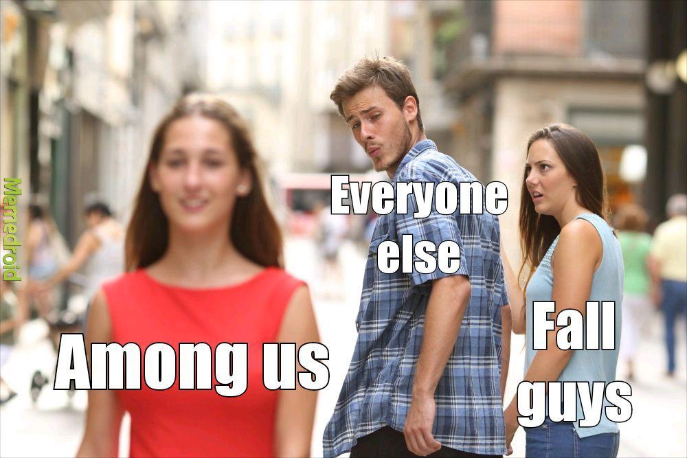 The fight over beans - meme