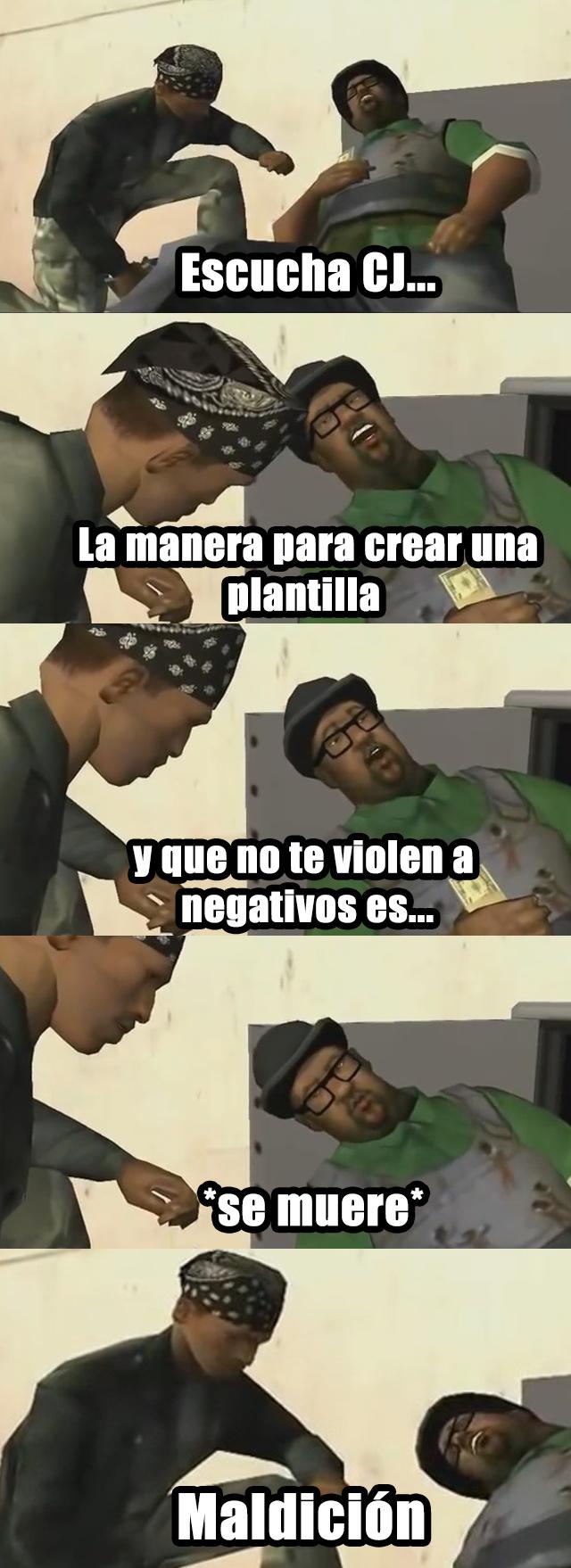 Plantilla nueva?.... NO - meme