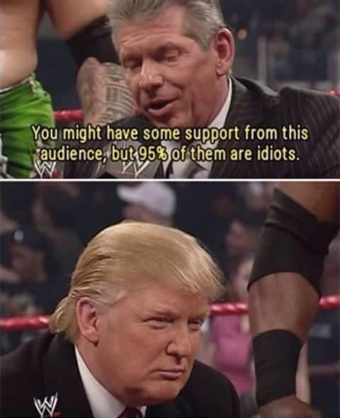Vince saw it coming - meme