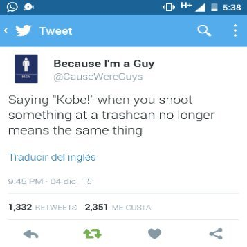 Goodbye Kobe - meme