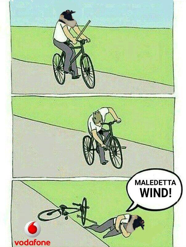 COLPA DELLA WIND -Pino - meme